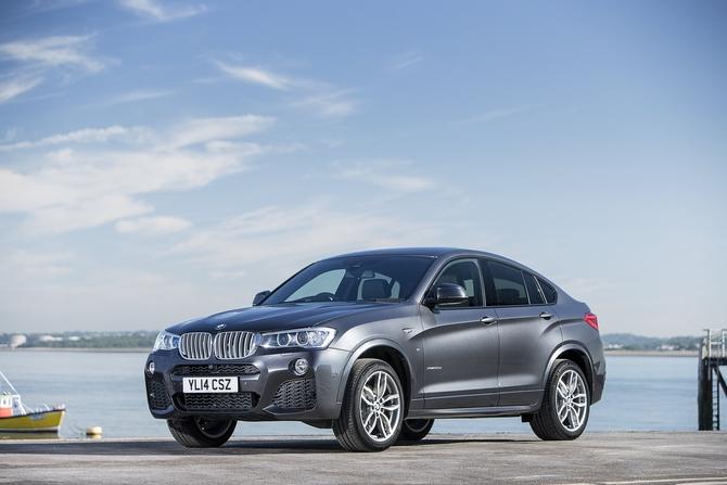 BMW X4 I 20d 2.0d MT (190 HP) 4WD auto technische daten. Leistung ...