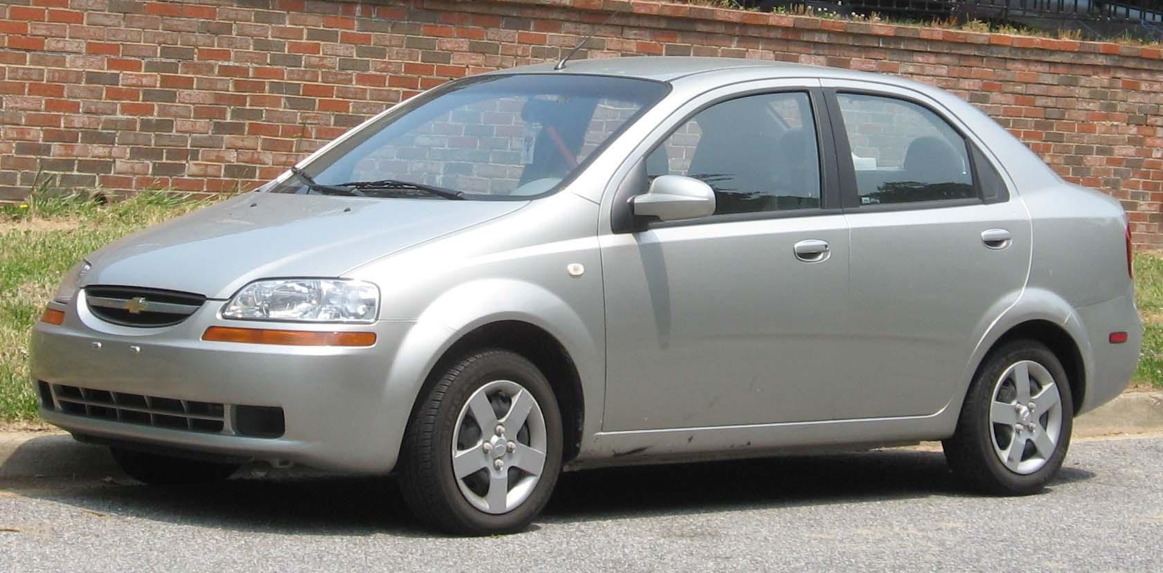 Chevrolet Aveo Sedan 1 4 I 83 Ps Auto Technische Daten Leistung Torque Tankinhalt Kraftstoffverbrauch