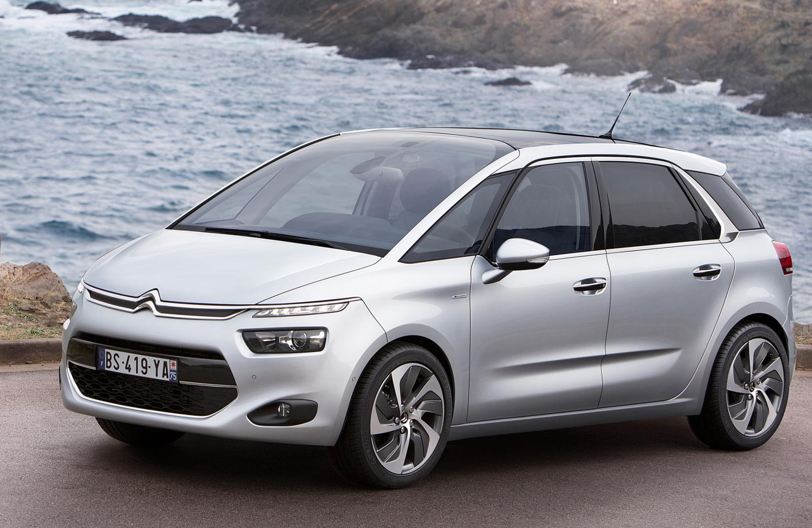 citroen c4 picasso ii mt 92 hp car technical data. Black Bedroom Furniture Sets. Home Design Ideas