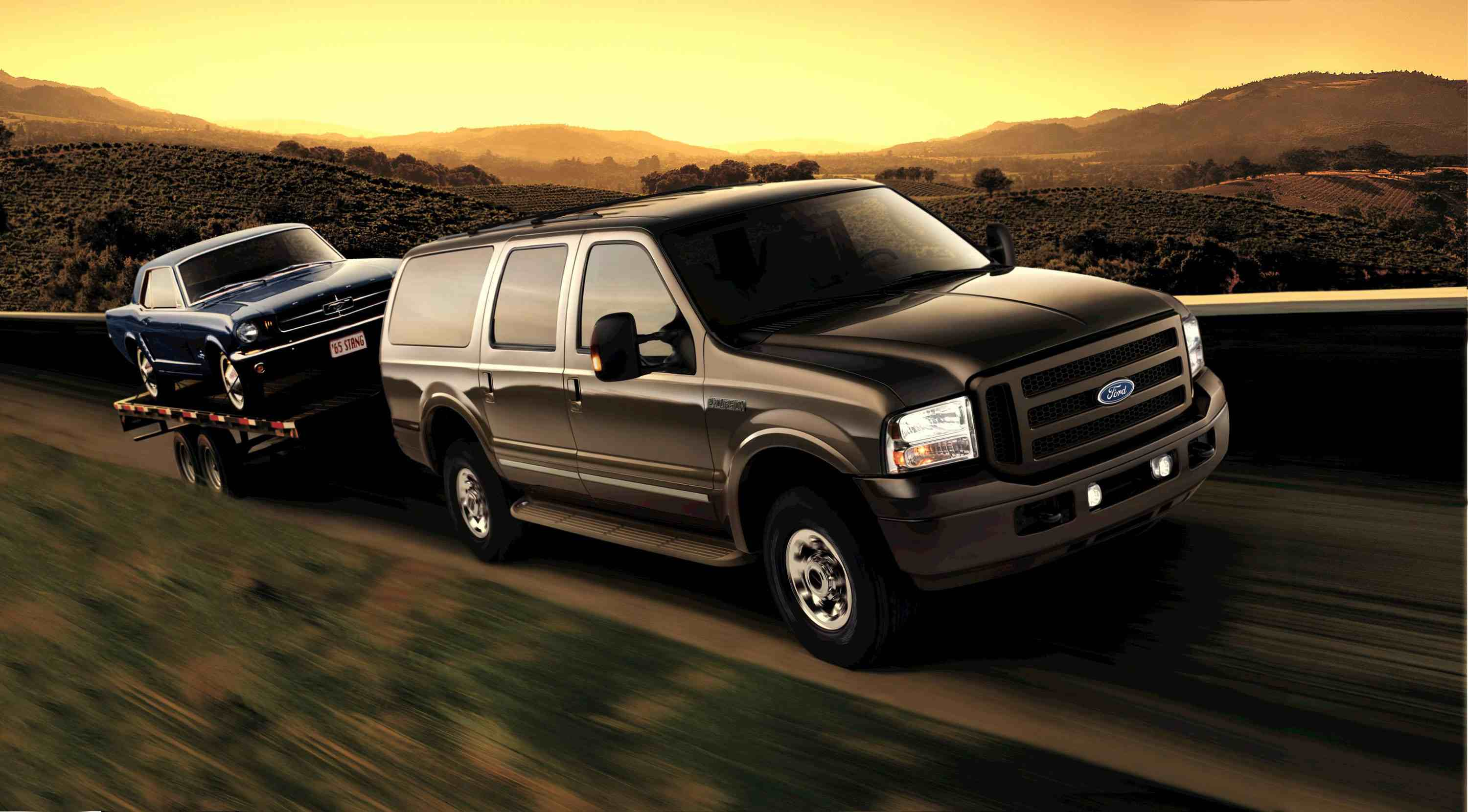 FORD Excursion car technical data Car specifications Vehicle fuel