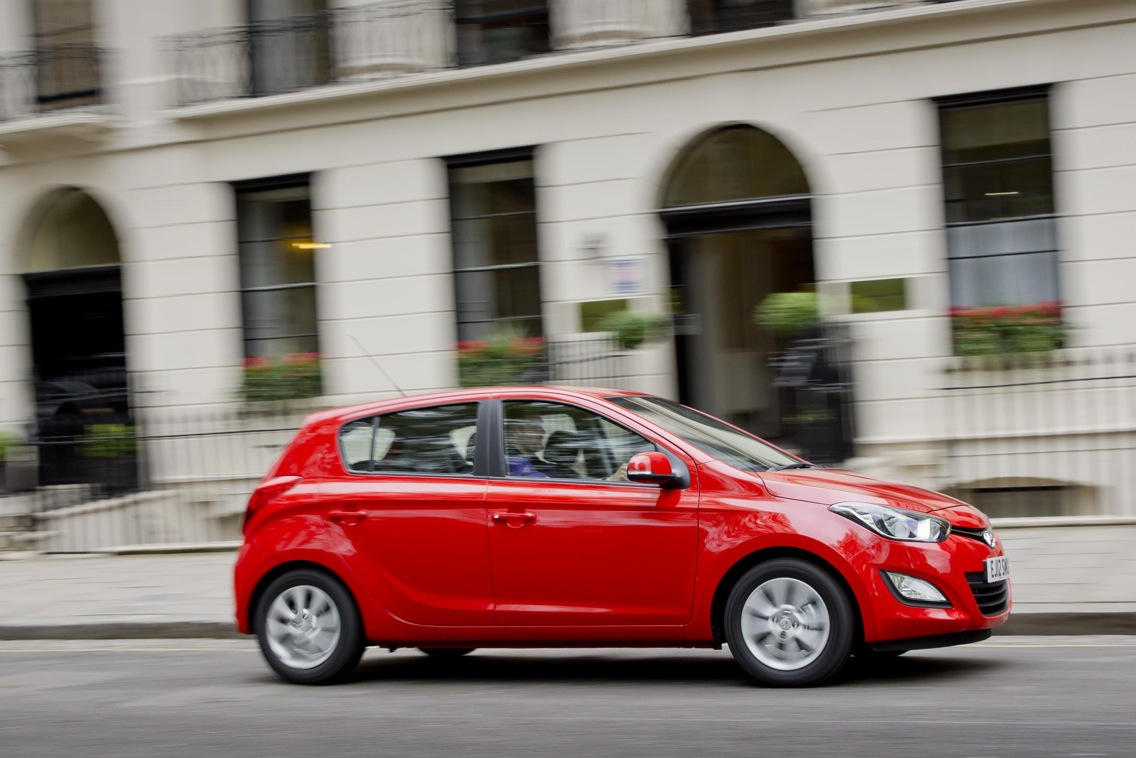 Hyundai i20 kuro sanaudos