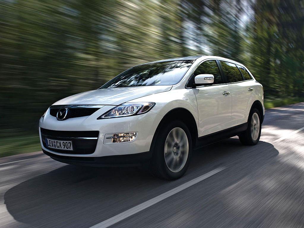 MAZDA CX 9 3.7i V6 273PS auto technische daten. Leistung. Torque ...
