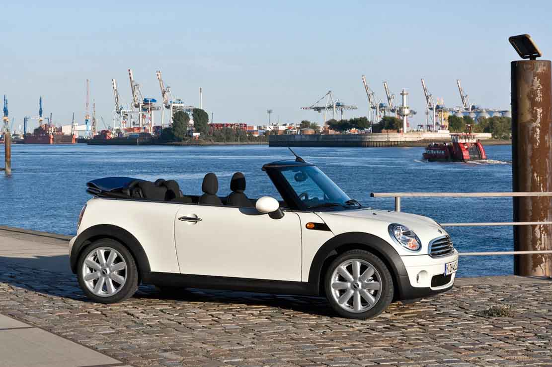 mini cooper cabrio 1 6 i 16v 116 ps auto technische daten leistung torque tankinhalt. Black Bedroom Furniture Sets. Home Design Ideas