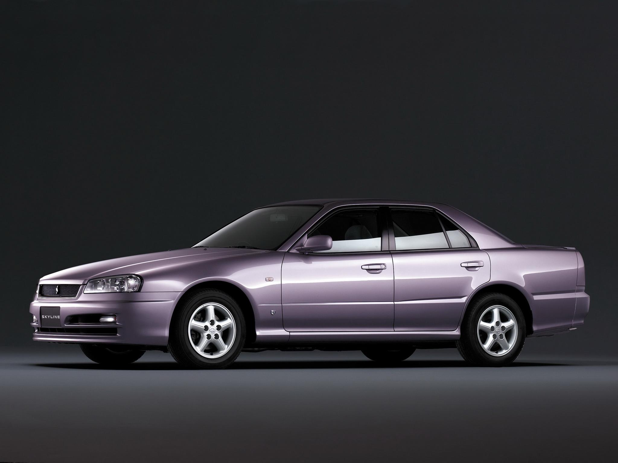 NISSAN Skyline car technical data. Car specifications ...