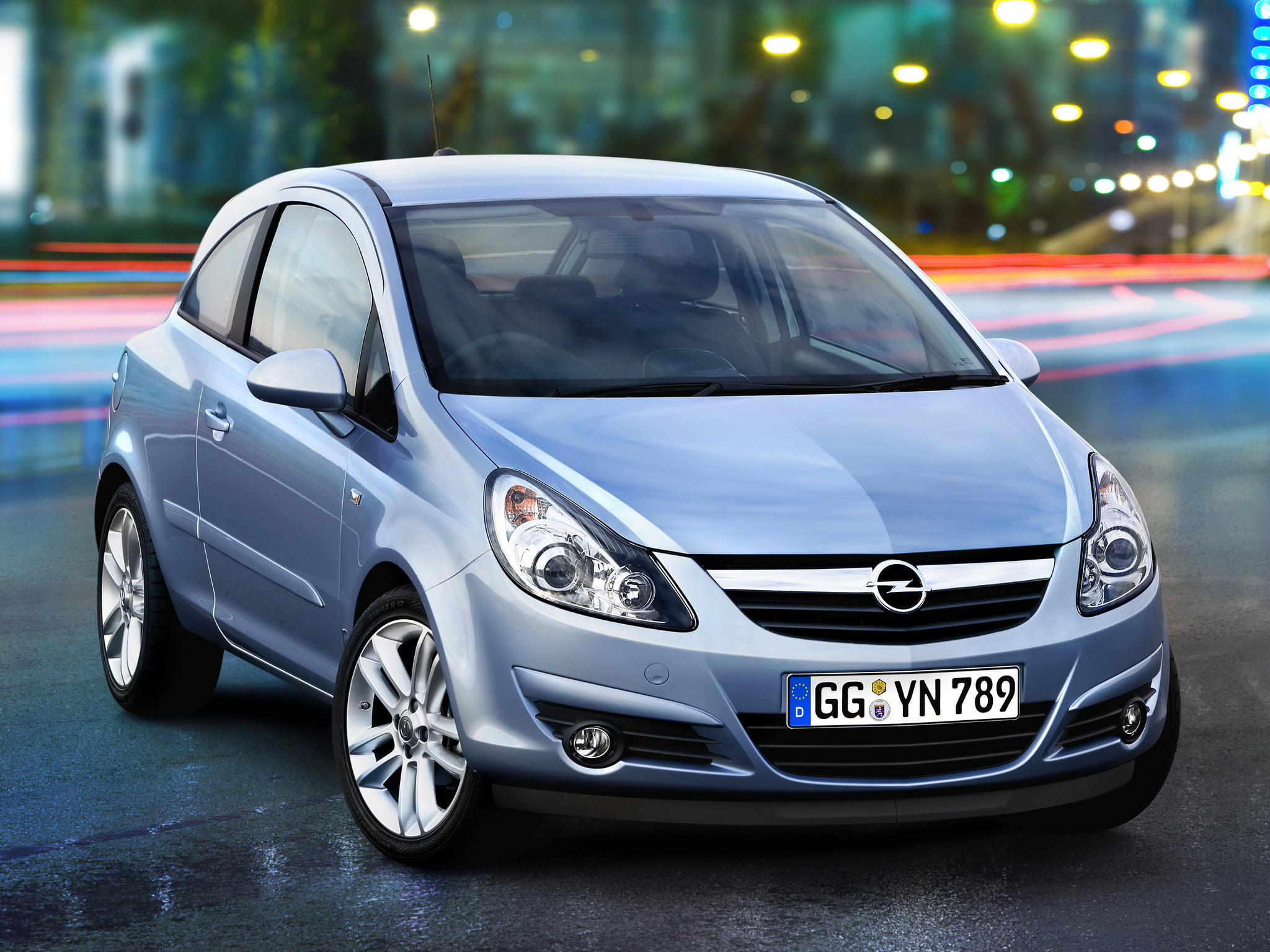 OPEL Corsa car technical data. Car specifications. Vehicle fuel