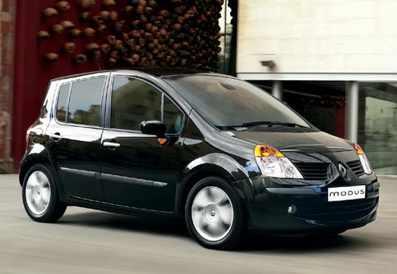 renault modus dati tecnici auto auto specifiche informazioni sul consumo di carburante dei. Black Bedroom Furniture Sets. Home Design Ideas