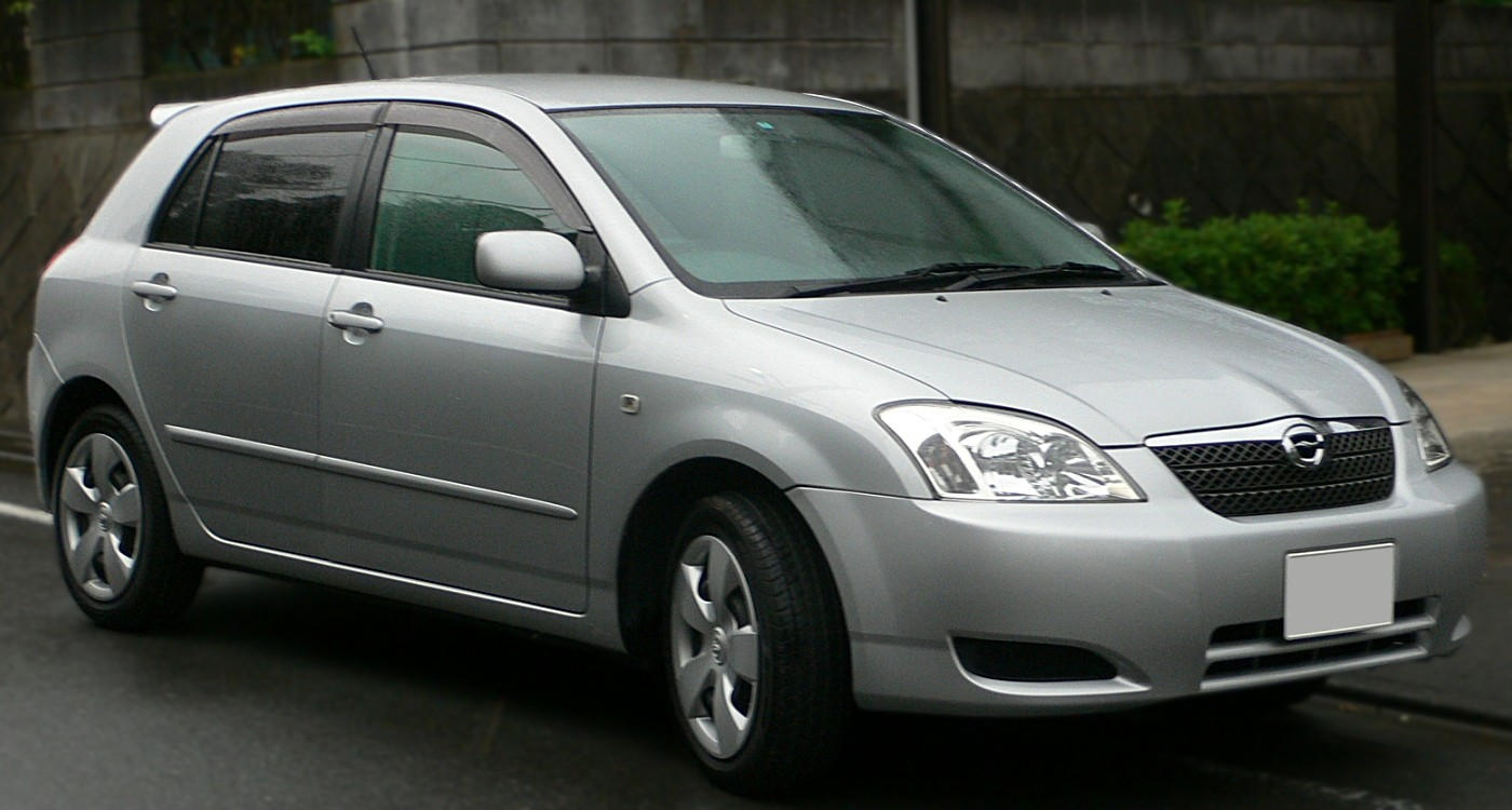 TOYOTA Corolla car technical data  Car specifications  Vehicle fuel
