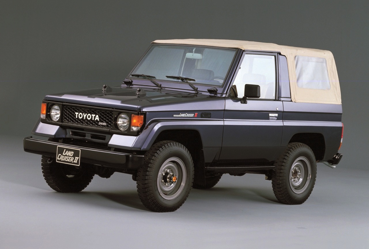 TOYOTA Land Cruiser car technical data  Car specifications  Vehicle