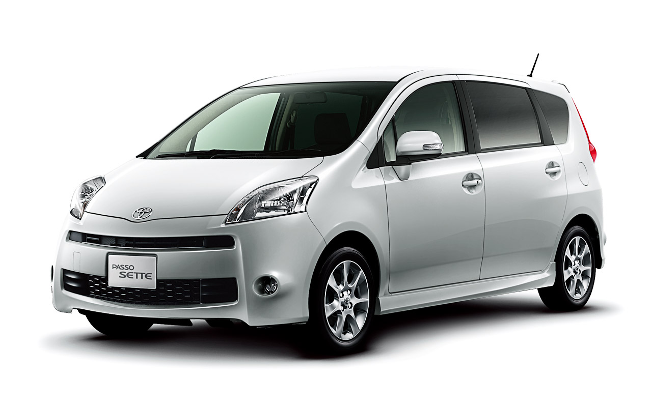 Toyota Passo Sette Car Technical Data Car Specifications
